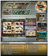 Spy Games the Arcade Video Game PCB