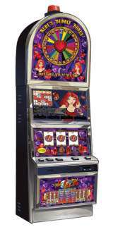 Hot Red Ruby with Ruby's Bubbly Bonus the  Slot Machine
