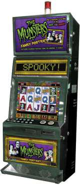 The Munsters Family Portrait the  Slot Machine