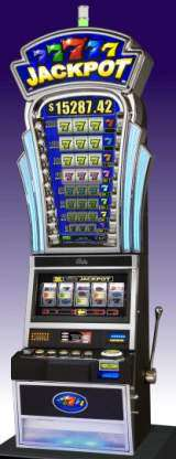 Colored Sevens Jackpot the Slot Machine