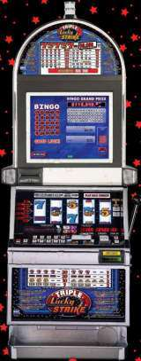 Triple Lucky Strike [Reel Touch Bingo] the Slot Machine