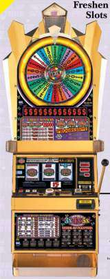 Double 3x4x5x Times Pay - Wheel of Fortune the Slot Machine