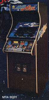 Moon Trek [Model MTA-8001] the Arcade Video Game PCB