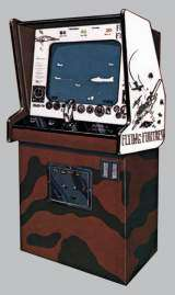 Flying Fortress the  Arcade Video Game PCB