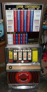 Bally Super Continental [Model 891-20] the  Slot Machine
