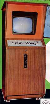 Pub-Pong the Arcade Video game