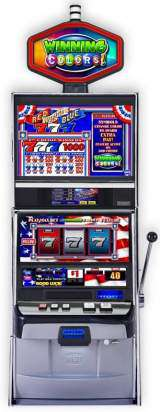 Red White & Blue Winning Colors! the  Slot Machine