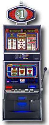 Triple Double Sizzling 7's the Slot Machine