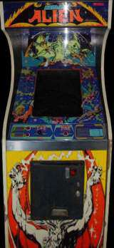 Cosmic Alien Arcade Video Game