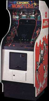 Cosmic Monsters [Upright model] the Arcade Video Game