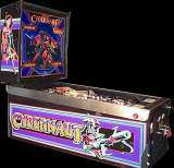 Cybernaut [Model 0B42] the Coin-op Pinball