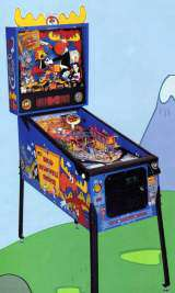 The Adventure of Rocky and Bullwinkle and Friends [Model 500-5522-01] the Coin-op Pinball