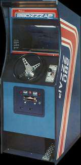 Datsun 280 Zzzap the Arcade Video Game
