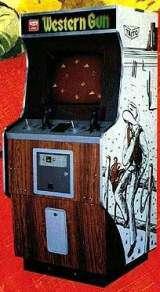 Western Gun Arcade Video Game By Taito 1975