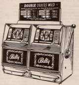 Side by Side [Double Deuces Wild] [Model 791] the Slot Machine