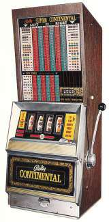 continental slot machine