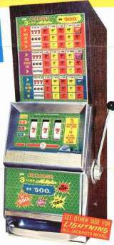 Jillions [3-Line Multiplier] [Model 1005-5] the Slot Machine