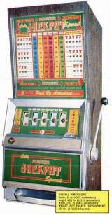 Jackpot Special [Model 1038] the Slot Machine