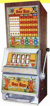 Gold Bars [Model 1041] the  Slot Machine