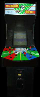 All American Football [4-Player Upright] Arcade Video Game