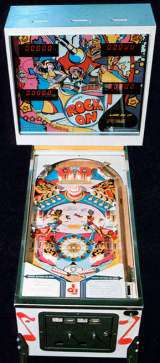 Rock on the Coin-op Pinball