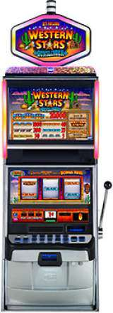 Western Stars Gunslinger the  Slot Machine