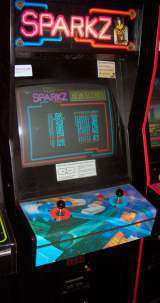 Dr Sparkz Lab the Arcade Video Game PCB