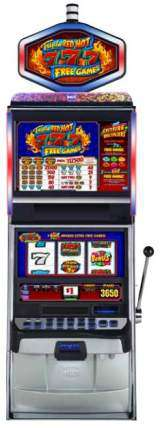 Triple Red Hot 7's Free Games the  Slot Machine