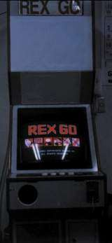 Rex Go the  Arcade Video Game PCB
