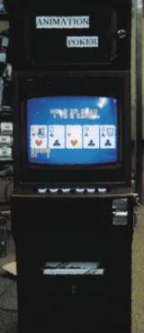 Animation Poker the Slot Machine