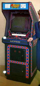 10-Yard Fight the  Arcade Video Game