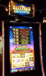 Sizzling Jackpots Golden Winners the  Slot Machine