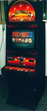 Rex Go 3 the  Arcade Video Game PCB