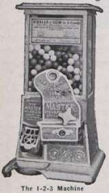 The Master [1925 Model] the Coin-op Vending Machine