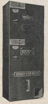 Hershey Bar Station the  Vending Machine