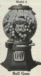Cast Iron Model 2 [Ball Gum] the Coin-op Vending Machine