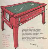 Q-Ball-Ette the  Pool Table