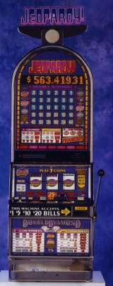 Jeopardy! Double Diamond the  Slot Machine