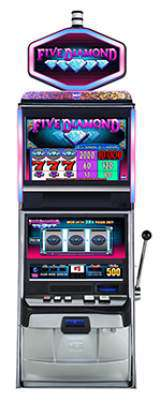 Five Diamond [2-Credit] the Slot Machine