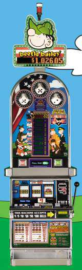 Beetle Bailey's Roll For Rank the Slot Machine