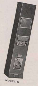 Model D [Hershey Bar] the Coin-op Vending Machine