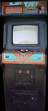 Express Raider the  Arcade Video Game