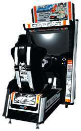 Initial D Arcade Stage 4 the Arcade Video Game