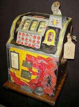 Lion Front the Slot Machine