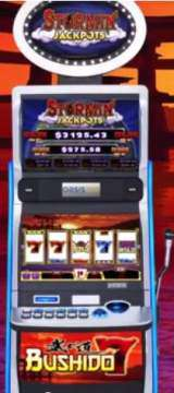 Bushido 7 - Stormin' Jackpots the Slot Machine