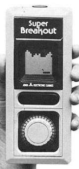 Super Breakout the  Handheld Electronic Game
