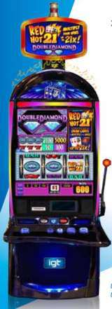 Red Hot 21 - Double Diamond the  Slot Machine
