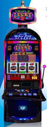 Triple Lucky 7's [S3000] the  Slot Machine