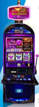 Hot Roulette Pink Diamond the  Slot Machine