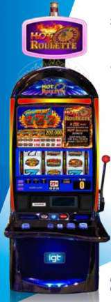 Hot Roulette Triple Red Hot 7's the  Slot Machine